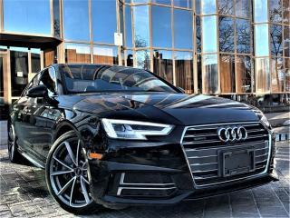 Used 2017 Audi A4 4dr Sdn Auto Technik quattro for sale in Brampton, ON