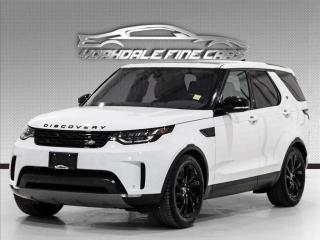 Used 2017 Land Rover Discovery 4WD HSE Black Designo Pkg, Drive Pro Pkg, Loaded, 7-seater for sale in Concord, ON
