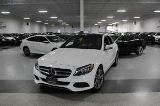 Used 2017 Mercedes-Benz C-Class C300 4MATIC I NAVIGATION I PANOROOF I REAR CAM I BLIND SPOT for sale in Mississauga, ON