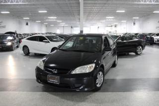 Used 2005 Honda Civic DX SE NO ACCIDENTS I POWER OPTIONS I KEYLESS ENTRY I AS IS for sale in Mississauga, ON