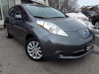 Used 2017 Nissan Leaf S - BACK-UP CAM! HEATED SEATS! ACCIDENT FREE! for sale in Kitchener, ON