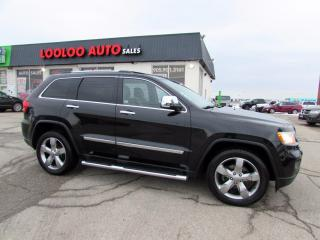 Used 2012 Jeep Grand Cherokee LIMITED 4WD for sale in Milton, ON