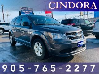 Used 2014 Dodge Journey Canada Value Pkg, Bluetooth for sale in Caledonia, ON
