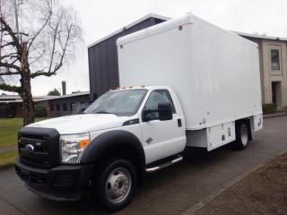 Used 2011 Ford F-550 Cube Van 16.5 foot Box 2WD Diesel for sale in Burnaby, BC