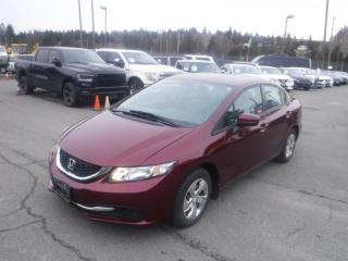 Used 2015 Honda Civic LX Sedan CVT for sale in Burnaby, BC