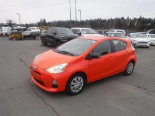 Used 2012 Toyota Prius c One 1.5L L4 DOHC 16V HYBRID for sale in Burnaby, BC