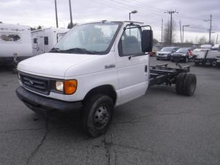 Used 2006 Ford Econoline E-450 Dually Cab and Chassis Diesel for sale in Burnaby, BC