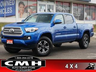 Used 2016 Toyota Tacoma TRD Sport  V6 CAM BLIND-SPOT HTD-SEATS 17-AL for sale in St. Catharines, ON