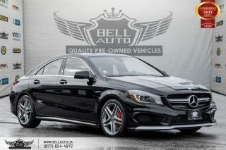 Used 2016 Mercedes-Benz CLA-Class AMG CLA 45, AWD, NO ACCIDENT, NAVI, REAR CAM, PANO ROOF for sale in Toronto, ON