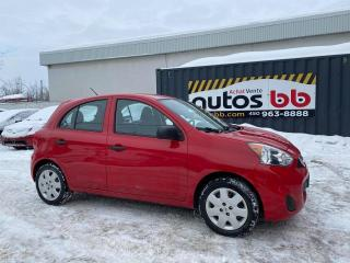 Used 2015 Nissan Micra MANUELLE for sale in Laval, QC