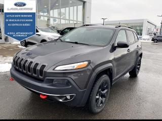 Used 2016 Jeep Cherokee Trailhawk 4 portes 4 roues motrices for sale in Victoriaville, QC