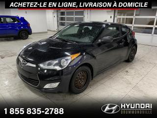 Used 2013 Hyundai Veloster GARANTIE  + CAMERA + A/C + CRUISE + MAGS for sale in Drummondville, QC