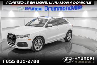 Used 2018 Audi Q3 QUATTRO + GARANTIE + TOIT PANO + CUIR !! for sale in Drummondville, QC