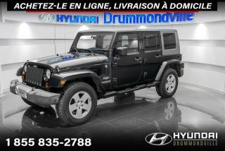 Used 2008 Jeep Wrangler UNLIMITED SAHARA 4WD + GARANTIE + A/C !! for sale in Drummondville, QC