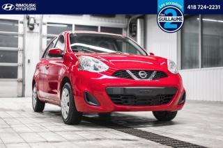 Used 2016 Nissan Micra SV chez Rimouski Hyundai for sale in Rimouski, QC