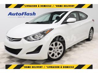 Used 2015 Hyundai Elantra GL* BLUETOOTH* CRUISE* A/C* SIEGES-CHAUFFANTS* for sale in St-Hubert, QC
