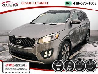Used 2016 Kia Sorento SX* V6* CUIR* TOIT* VOLANT CHAUFFANT* SI for sale in Québec, QC