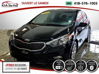 Used 2016 Kia Forte LX+* SIEGES CHAUFFANTS* BLUETOOTH* JAMAI for sale in Québec, QC