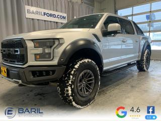 Used 2019 Ford F-150 Raptor SuperCrew 4RM caisse de 5,5 pi for sale in St-Hyacinthe, QC