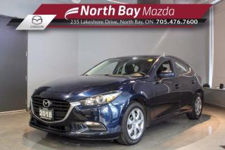Used 2018 Mazda MAZDA3 GX - New Brakes! - New Tires! - Backup Camera for sale in North Bay, ON