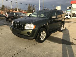 Used 2007 Jeep Grand Cherokee 4 RM 4 portes Laredo for sale in Sherbrooke, QC