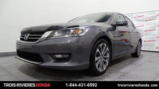 Used 2015 Honda Accord SPORT + GARANTIE 7/160 + BLUETOOTH ! for sale in Trois-Rivières, QC