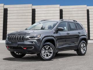 Used 2021 Jeep Cherokee TRAILHAWK ELITE V6 4X4 *TOIT* REG ADAPTATIF *PROMO for sale in Mirabel, QC
