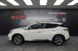 Used 2015 Nissan Murano SV AUTO MAGS + TOIT OUVRANT PANO GPS NAV 82 940 KM for sale in Lévis, QC