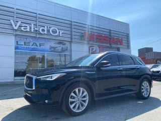 Used 2019 Infiniti QX50 PROACTIVE+ 1PROPRIO TOUT ÉQUIPÉ! EXCELLENTE CONDITION!! for sale in Val-d'Or, QC