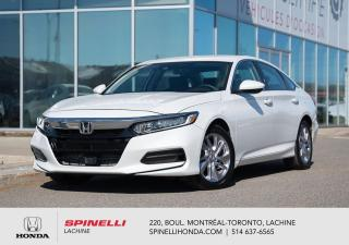 Used 2018 Honda Accord LX AUTO TRES BAS KM COMME NEUF AUTO AC MAGS BLUETOOTH CAM RECUL++ for sale in Lachine, QC