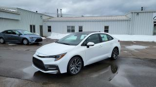 New 2021 Toyota Corolla SE CVT SE UPGRADE / BLACK ROOF OPTION for sale in Port Hawkesbury, NS