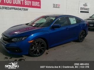 New 2021 Honda Civic Sport for sale in Cranbrook, BC