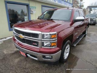 Used 2015 Chevrolet Silverado 1500 GREAT VALUE LT-TRUE-NORTH-EDITION 6 PASSENGER 5.3L - V8.. 4X4.. CREW-CAB.. SHORTY.. TRAILER BRAKE.. HEATED SEATS.. BACK-UP CAMERA.. BLUETOOTH SYSTEM.. for sale in Bradford, ON