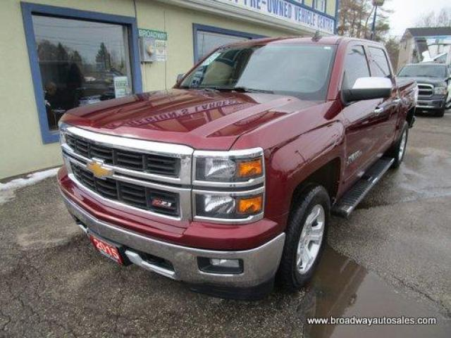 2015 Chevrolet Silverado 1500 GREAT VALUE LT-TRUE-NORTH-EDITION 6 PASSENGER 5.3L - V8.. 4X4.. CREW-CAB.. SHORTY.. TRAILER BRAKE.. HEATED SEATS.. BACK-UP CAMERA.. BLUETOOTH SYSTEM..