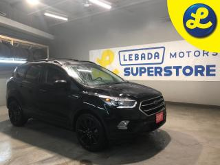 Used 2017 Ford Escape AWD * Navigation * Cloth Seats W/ Leather Inserts * 19 Black Alloy Rims *Back Up Camera * Android Auto * Apple Car Play * MicroSoft Sync * for sale in Cambridge, ON