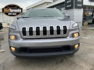 Used 2015 Jeep Cherokee North - 4WD - V6 - Navigation - Heated Wheel - No Accidents - Jeep Dealer Serviced for sale in North York, ON