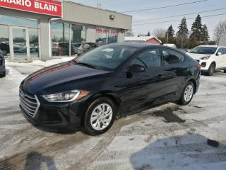 Used 2018 Hyundai Elantra VOLANT CHAUFFANT **USB**VITRE PORTE ELECTRIQUE for sale in Mcmasterville, QC