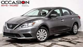 Used 2018 Nissan Sentra SV SIEGES.CHAUFFANTS+BLUETOOTH+CAM.RECUL for sale in Boisbriand, QC