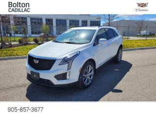 New 2021 Cadillac XT5 Sport - Navigation - Leather Seats - $416 B/W for sale in Bolton, ON