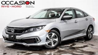 Used 2020 Honda Civic LX BLUETOOTH+CAM.RECUL+SIEGES.CHAUFFANTS for sale in Boisbriand, QC