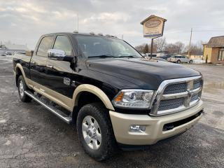 Used 2015 RAM 2500 Longhorn,Diesel,Navigation for sale in Ridgetown, ON