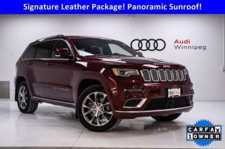 Used 2020 Jeep Grand Cherokee Summit w/5.7L Hemi *Low KM-Local Trade* for sale in Winnipeg, MB