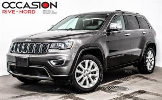 Used 2017 Jeep Grand Cherokee Limited NAVI+CUIR+TOIT.OUVRANT for sale in Boisbriand, QC