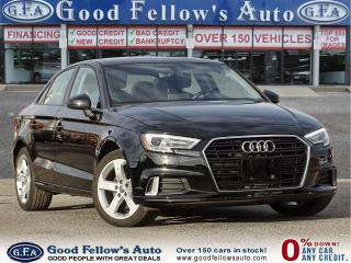 Used 2017 Audi A3 KOMFORT 2L, LEATHER & POWER &HEATED SEATS, SUNROOF for sale in Toronto, ON