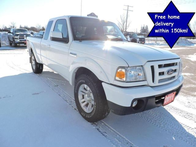 2011 Ford Ranger Sport 4X4 No rust Only 193000 km's