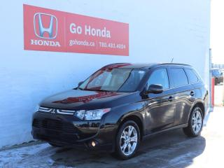 Used 2014 Mitsubishi Outlander AWD NAV LEATHER SEATS for sale in Edmonton, AB