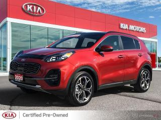 Used 2020 Kia Sportage 2.0L SX Turbo AWD for sale in Port Dover, ON