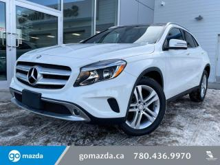 Used 2017 Mercedes-Benz GLA GLA250- AWD, LEATHER, SUNROOF, BACK UP, NAV for sale in Edmonton, AB