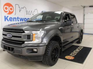 Used 2018 Ford F-150 XLT | 301a | Power Seat | NAV | 4x4 | SPORT Pkg | Remote Start | One Owner for sale in Edmonton, AB