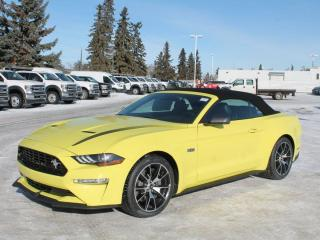 New 2021 Ford Mustang Convertible | 201a Pkg | Heated/Cooled Leather | 2.3L High Performance for sale in Edmonton, AB